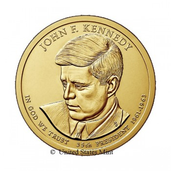 USA $ 2015 Presidente Kennedy