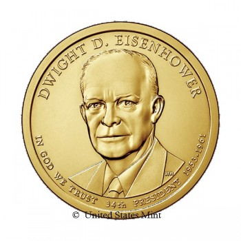 USA $ 2015 Presidente Eisenhower