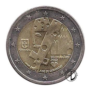 Portogallo - 2012 - 2€ Guimarães