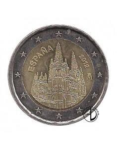 Spagna - 2012 - 2€ Cattedrale di Burgos