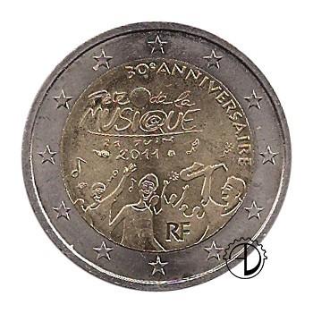 Francia - 2011 - 2€ Musica