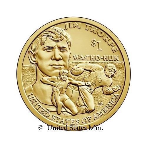 USA $ 2018 Nativi: Jim Thorpe