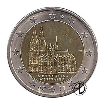 Germania - 2011 - 2€ Duomo di Colonia