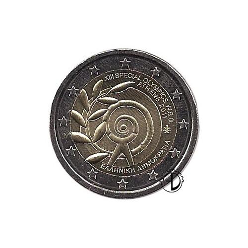 Grecia - 2011 - 2€ Olimpiadi Speciali