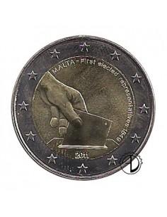 Malta - 2011 - 2€ Elezioni