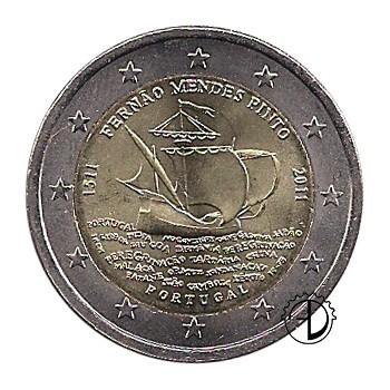 Portogallo - 2011 - 2€ Fernão Mendes Pinto