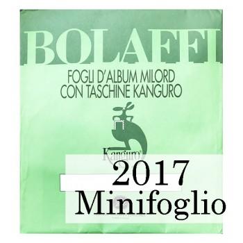 Fogli Italia 2017 MF Juventus - Bolaffi