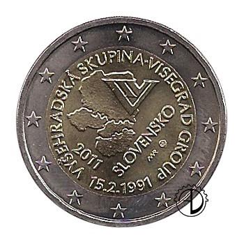 Slovacchia - 2011 - 2€ Visegrád