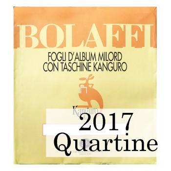 Fogli Vaticano 2017 Quartine - Bolaffi