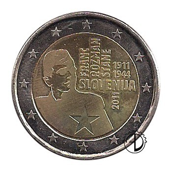 Slovenia - 2011 - 2€ Franc Rozman