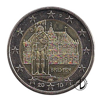 Germania - 2010 - 2€ Municipio di Brema