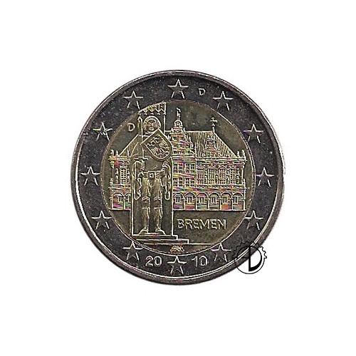 Germania - 2010 - 2€ Municipio di Brema