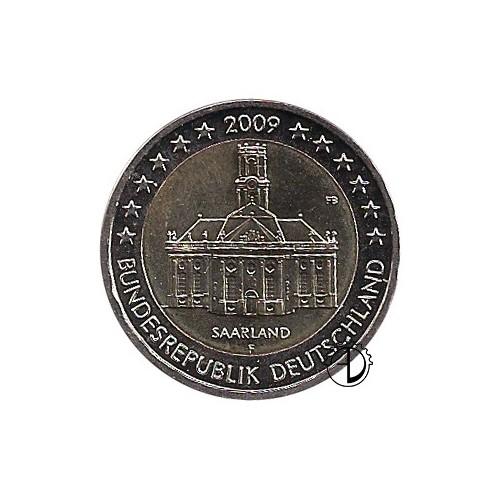 Germania - 2009 - 2€ Ludwigskirche a Saarbrücken