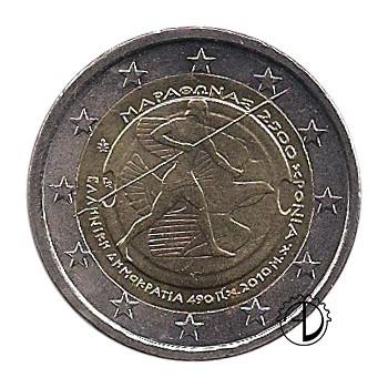 Grecia - 2010 - 2€ Battaglia di Maratona