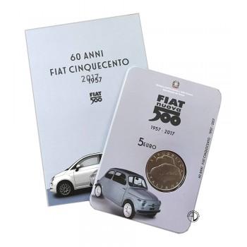 Italia - 2017 - 5€ Fiat 500