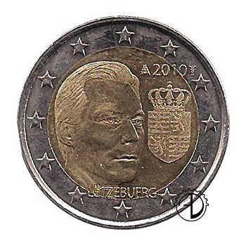 Lussemburgo - 2010 - 2€ Stemma del Granduca Enrico