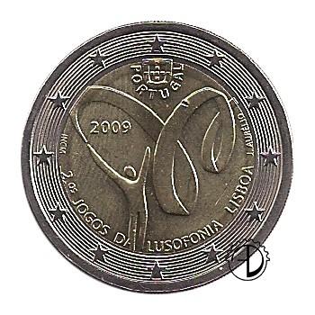 Portogallo - 2009 - 2€ Giochi di Lusofonia