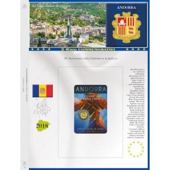 Abafil Fogli 2€ Comm. 2018 Andorra
