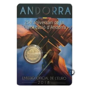 Andorra - 2018 - 2€ Costituzione (in blister)