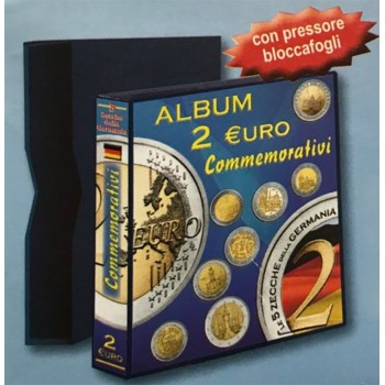 Abafil Germania 2€ Comm. Cartella Vuota