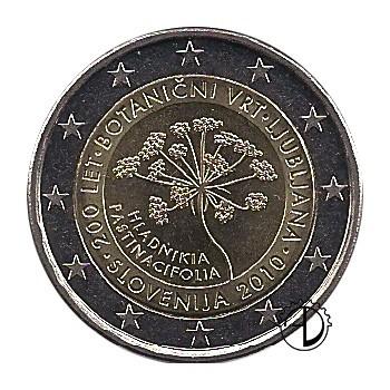 Slovenia - 2010 - 2€ Orto Botanico