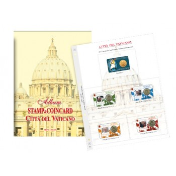 Abafil Fogli Vaticano Coincard 2010/17