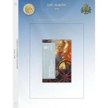 Abafil S.Marino Foglio 2€ 2018 Tintoretto