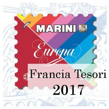 Fogli Marini Francia Tesori 2017