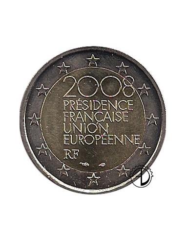 Francia - 2008 - 2€ Presidenza del Consiglio europeo