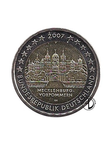 Germania - 2007 - 2€ Castello di Schwerin