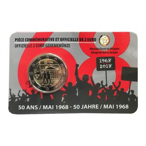 Belgio - 2018 - 2€ Rivolta (versione francese)
