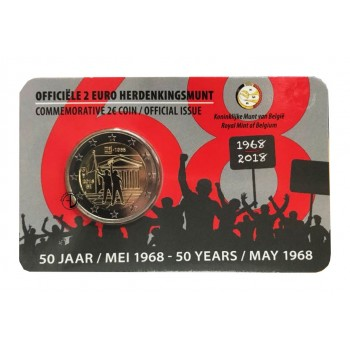 Belgio - 2018 - 2€ Rivolta (versione olandese)