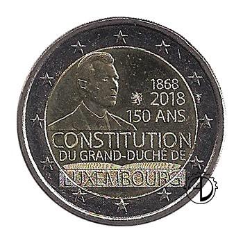 Lussemburgo - 2018 - 2€ Costituzione