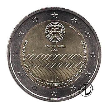 Portogallo - 2008 - 2€ Diritti dell'Uomo