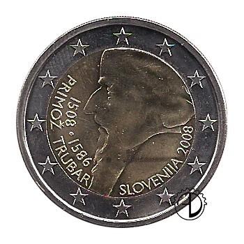 Slovenia - 2008 - 2€ Primož Trubar