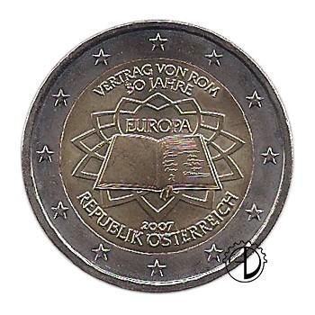 Austria - 2007 - 2€ Trattato di Roma