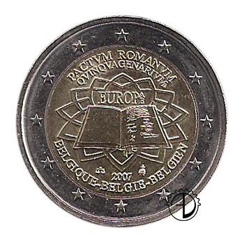 Belgio - 2007 - 2€ Trattato di Roma