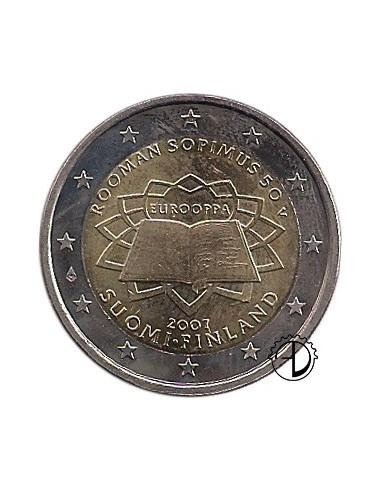 Finlandia - 2007 - 2€ Trattato di Roma
