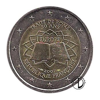 Francia - 2007 - 2€ Trattato di Roma