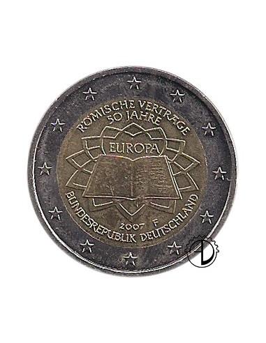 Germania - 2007 - 2€ Trattato di Roma