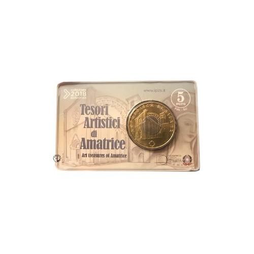 Italia - 2018 - 5€ Tesori di Amatrice