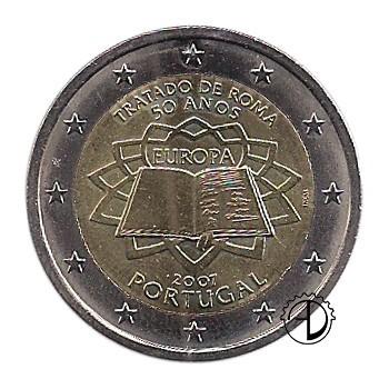 Portogallo - 2007 - 2€ Trattato di Roma