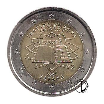 Spagna - 2007 - 2€ Trattato di Roma
