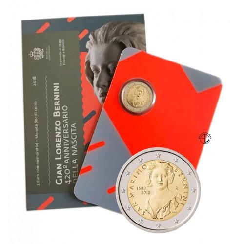 San Marino - 2018 - 2€ Bernini