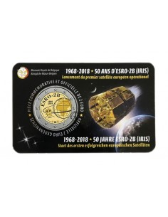 Belgio - 2018 - 2€ Satellite (v. francese)