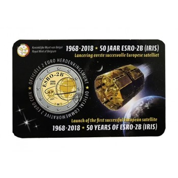 Belgio - 2018 - 2€ Satellite (v. olandese)