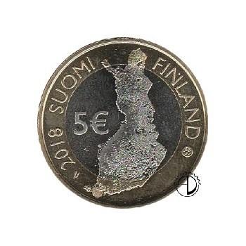 Finlandia - 2018 - 5€ Mare dell'Arcipelago