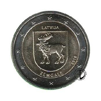 Lettonia - 2018 - 2€ Semgallia