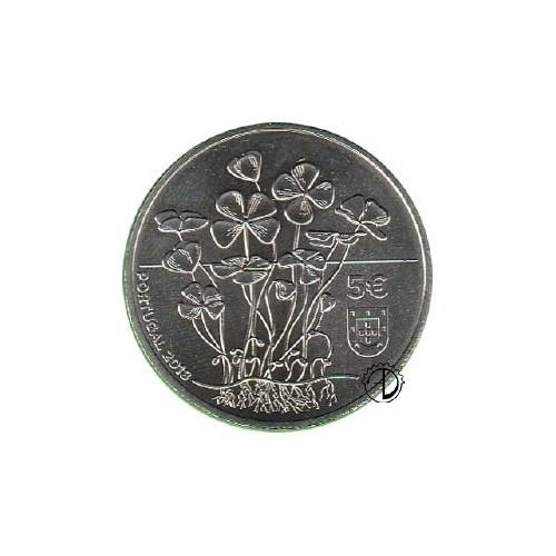 Portogallo - 2018 - 5,00€ Quadrifoglio