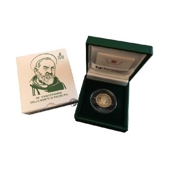 Vaticano - 2018 - 2€ Padre Pio PROOF
